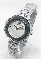 Женские наручные часы Swarovski (Сваровски), серебро с белым циферблатом ( код: IBW568SO ), фото 1