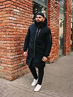 Мужская Куртка, Парка до -25 С Длинная парка мужская чоловіча куртка парка стильная зимняя куртка, фото 1