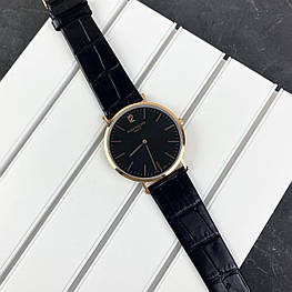 Мужские наручные часы Patek Philippe Calatrava Black-Gold-Black
