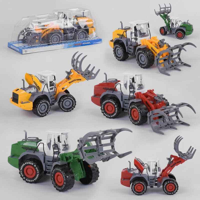 Трактор 797-3 (36/2) 3 вида, инерция, в слюде