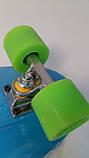 Скейт, PU колеса, размер 70*20 см , Fish Skateboard, SL-F04, фото 4