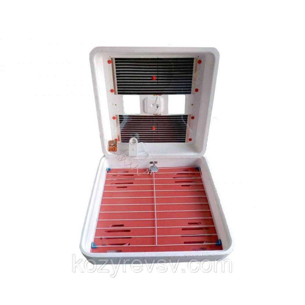 Автоматический инкубатор Рябушка Smart Plus turbo  на 120 куриных яиц  цифровым терморегулятором,Харьков