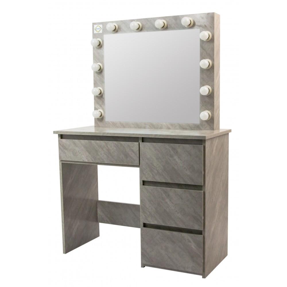 Столик косметический Bonro- B071 серый