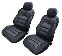 Чехлы-накидки на передние сиденья универсальные черный