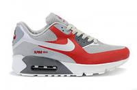 Кроссовки женские  Nike Air Max 90 Hyperfuse (найк аир макс, оригинал) серые