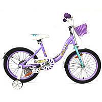 """Велосипед RoyalBaby FLYBEAR 18"""", OFFICIAL UA, червоний"""
