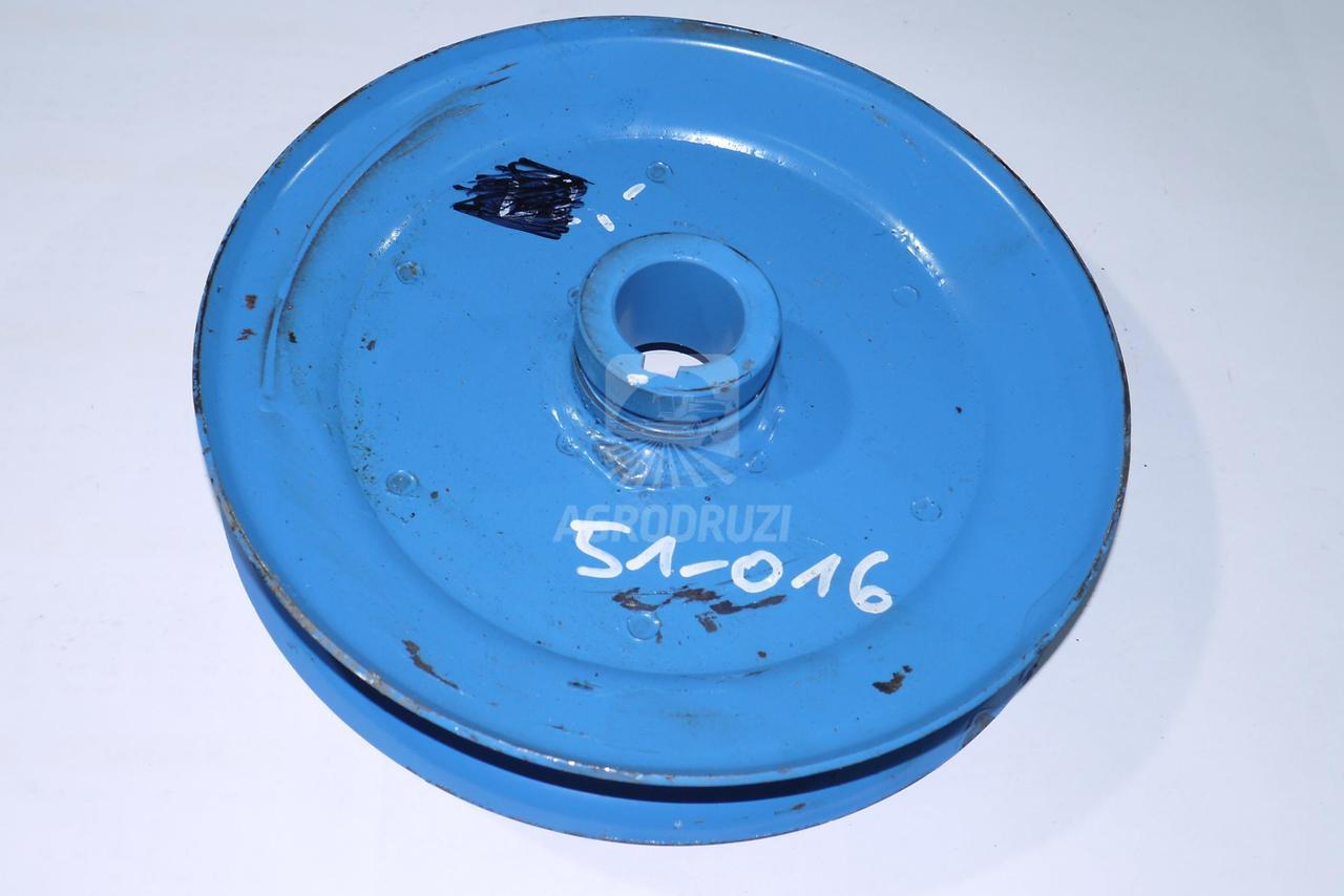 Шків транспортера бадилля на шпонку (бляшаний, менший) 5644/51-016