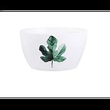 Тарелки керамические для супа, супницы с рисунками растений, 6 видов, фото 9