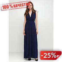 Платье H&M 126447978 L Темно-синий (2000000863290)