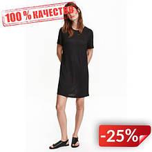 Платье H&M 24044274 XS Черный (2000000871295)