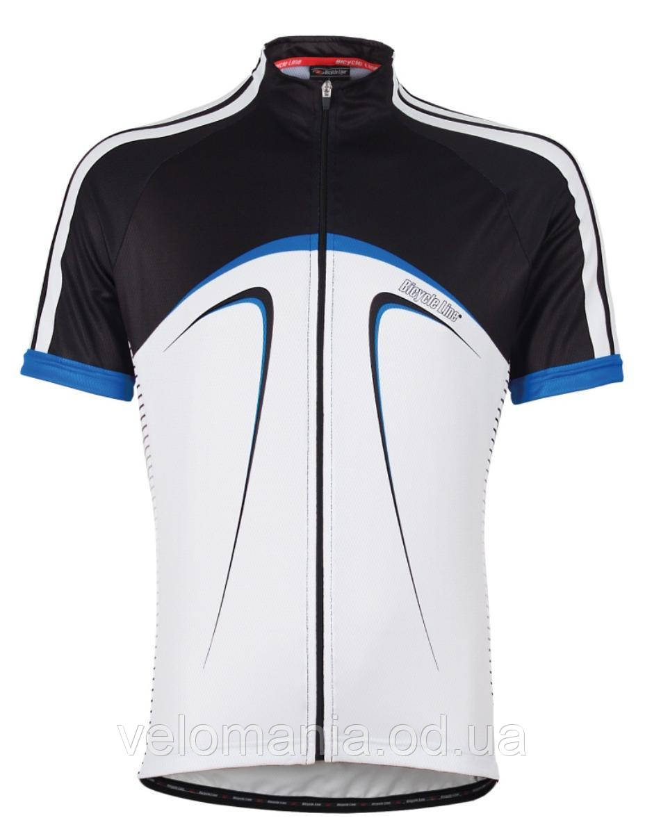 Джерси Bicycle Line кор. рукав, размер L black