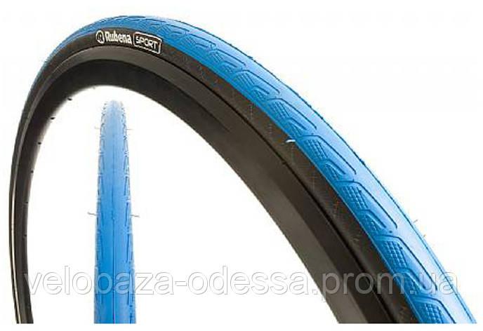 Покрышка 700x23C (23-622) Mitas SYRINX V80 Classic, черно-синяя, фото 2