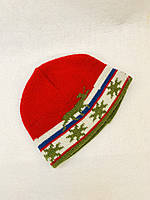 Шапка для хлопчика Польща червона 57124