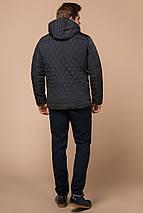 Куртка стандартной длины зимняя мужская графитовая модель 24534, фото 3