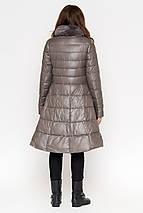 Куртка серая женская на молнии осенне-весенняя модель 7319, фото 3