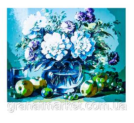 "Картина по номерам ""Ваза с цветами"" 50х65см"