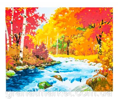 """Картина по номерам  """"Осенний лес"""" 50х65 см"""
