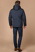 Светло-синяя куртка стандартной длины зимняя мужская модель 30538, фото 3