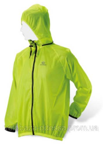 Куртка EXUSTAR CJK014, дождевик, размер M, салатовая