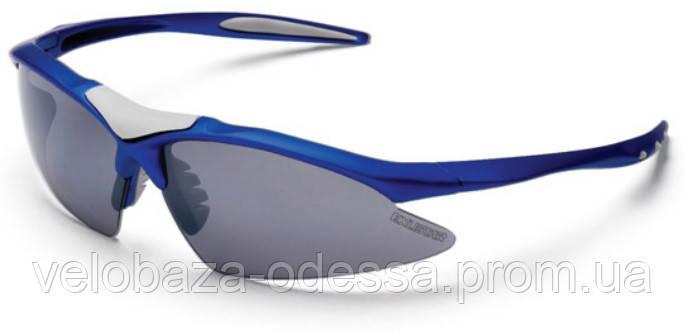 Очки EXUSTAR CSG05-4IN1, 4 линзы в комплекте, синие, фото 2