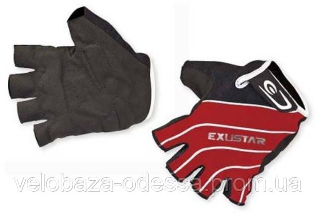 Перчатки EXUSTAR CG280 красн. XL