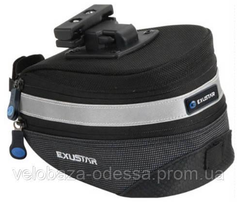 Сумка подседельная EXUSTAR BBS11Q-A размер L черный, фото 2