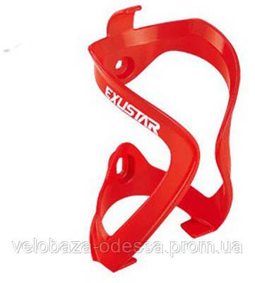 Флягодержатель EXUSTAR BC500RD Nylon + стекловолокно, красный, фото 2