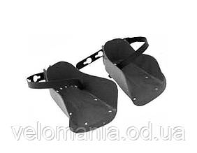 Подножки для заднего велокресла Bellelli с ремешком, пара, серые