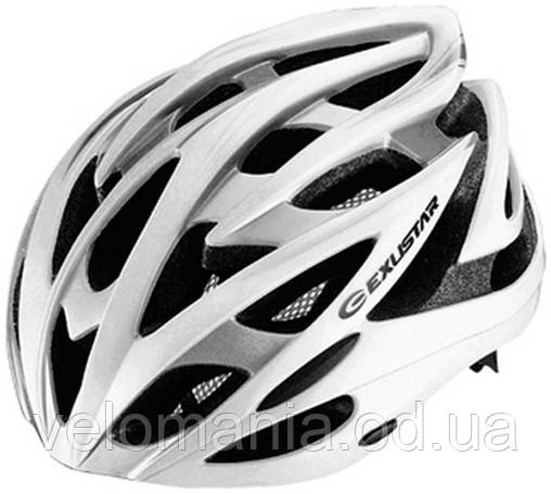 Шлем EXUSTAR BHM106 размер M/L 58-62см белый, фото 2