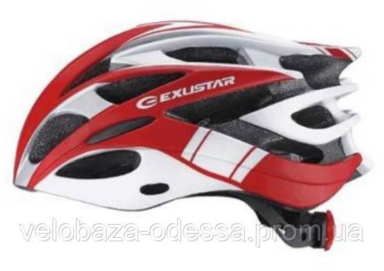 Шлем EXUSTAR BHM106 размер S/M 55-58см красный