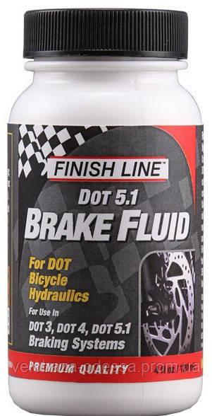 Тормозная жидкость Finish Line Fluid DOT, объём120мл