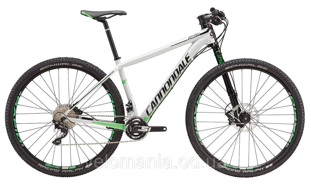 """Велосипед 29"""" Cannondale F-SI Alloy 1 рама - L белый 2016"""