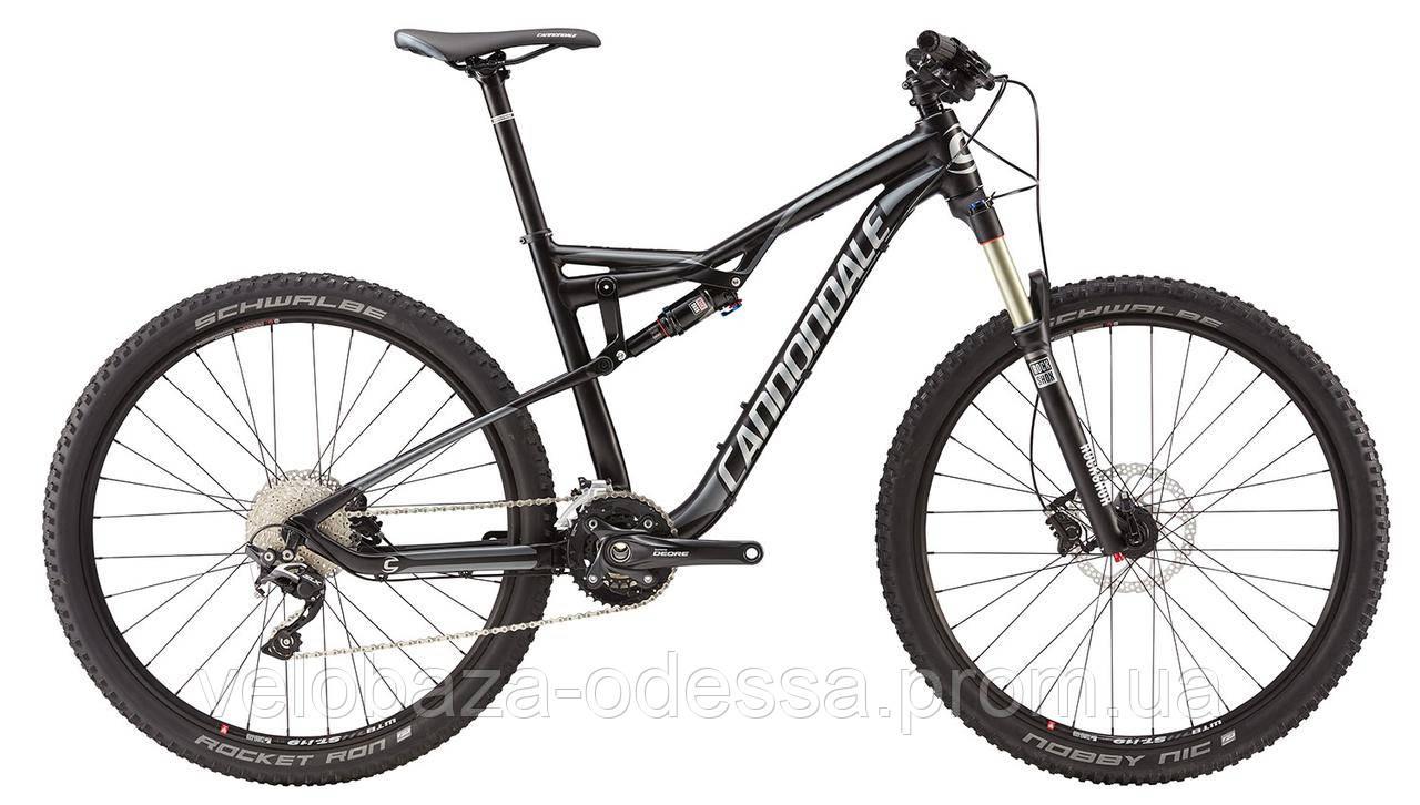 "Велосипед 27,5"" Cannondale HABIT 5 рама - M черный 2016"