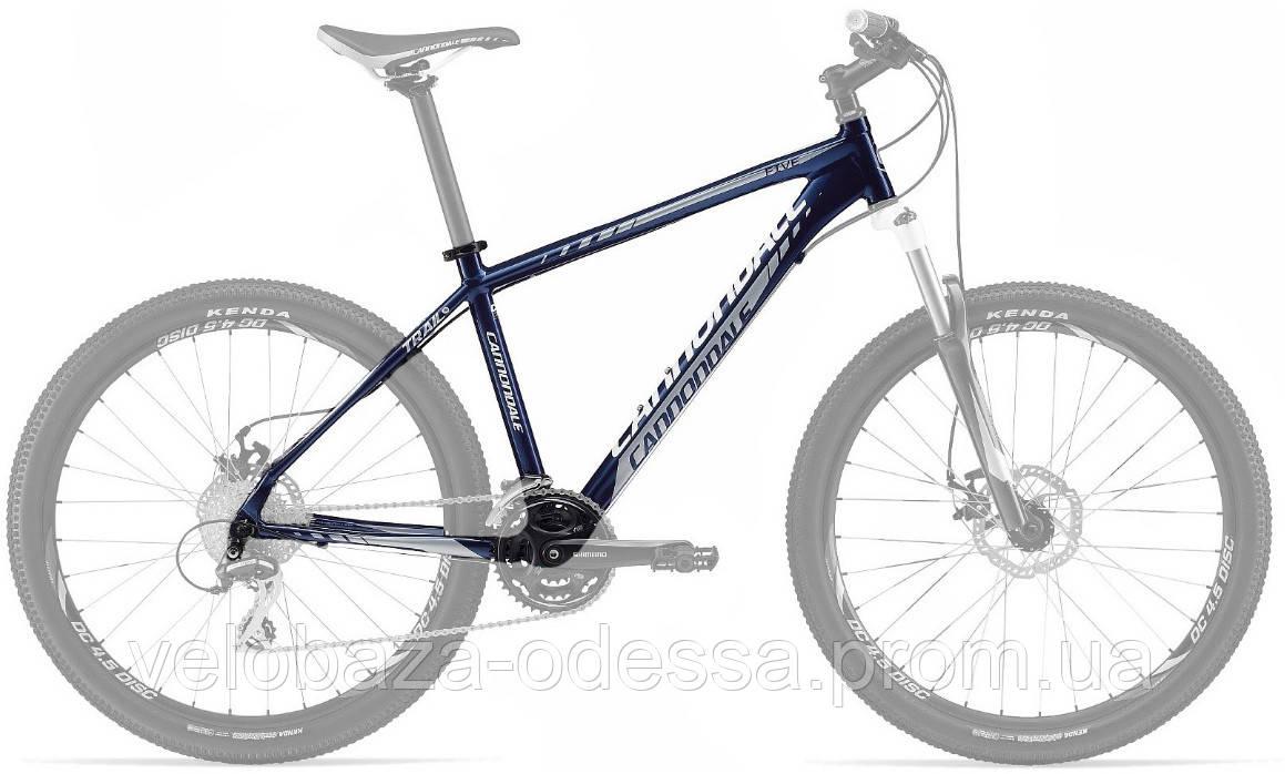 """Рама Cannondale 26"""" Trail 5 рама - L синяя 2012"""