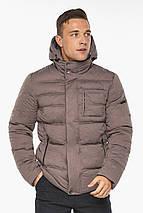 Куртка – воздуховик горіховий чоловічий зимовий модель 43520, фото 2