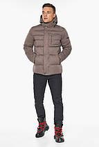Куртка – воздуховик горіховий чоловічий зимовий модель 43520, фото 3