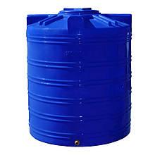 Емкость Рото Европласт вертикальная двухслойная 1000 л Синий 120, КОД: 1881741