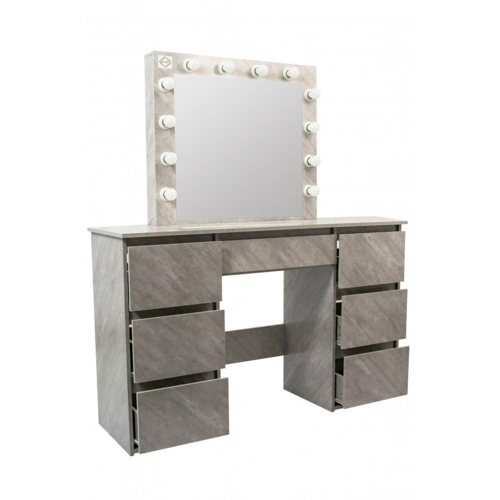Туалетный столик Bonro- B072 серый