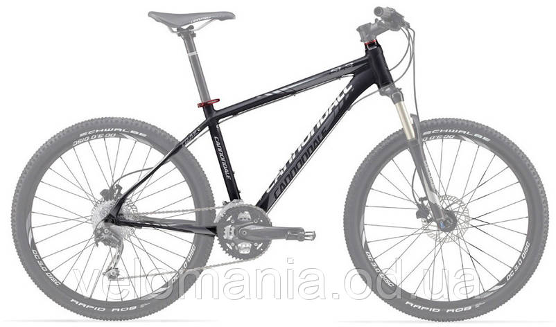 "Рама Cannondale 26"" Trail SL 3 рама - L черная 2012, фото 2"