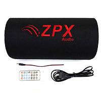 """Автомобильный сабвуфер ZPX 10"""" Cm 1000W с усилителем и Bluetooth"""