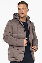 Куртка – воздуховик на зиму ореховый мужской модель 35230, фото 3