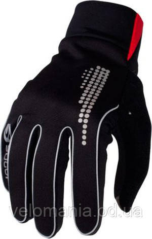Перчатки Sugoi ZAP RUN, дл. палец, мужские, черные, M, фото 2