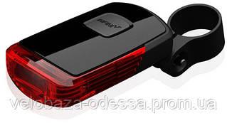 """Мигалка задняя Infini VISTA I-411R, 0.5W светодиод, 2 режима, 2x""""AАA"""", с крепл."""