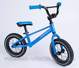 "Беговел 12"" Kiddimoto BMX1 blue"