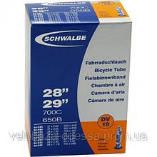 """Камера 27,5""""-29"""" (40/62-584/635) Schwalbe DV19 40мм IB"""