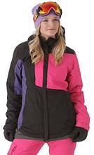 Куртка 686  Mannual Loop Insulated жен.L, Black Colorblock