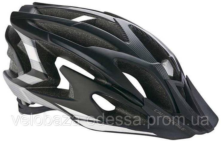 Шлем Cannondale RYKER размер M 52-58см black-silver, фото 2