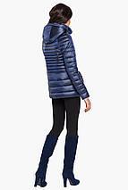 Сапфировая осенне-весенняя женская куртка модель 15115, фото 3