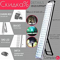Ліхтарик світлодіодний акумуляторний ручний ліхтар світлодіодний ліхтар діодний кемпінговий туристичний великий яскравий