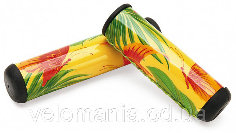 Грипсы Electra Butterfly 2 long yellow
